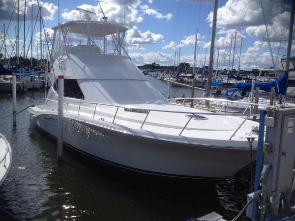 Rampage 45 Convert. as Cabo or Viking Starboard profile
