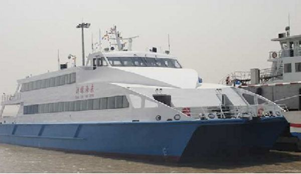 New 41.05 Aluminum Catamaran Passenger Vessel To be built in China