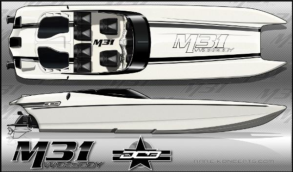 Daves Custom Boats DCB M31