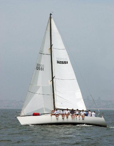 Olson 40 Sailing
