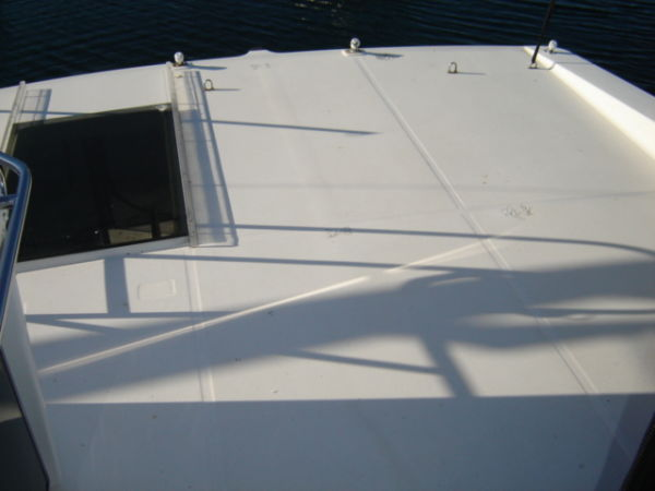 Topside Deck off Flybridge