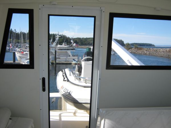 Flybridge Door