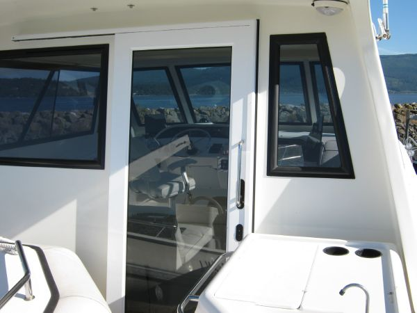 Flybridge Enclosure Door