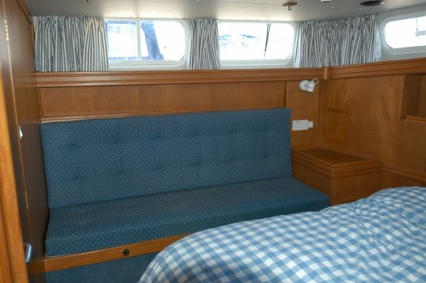 Talisman 49 - aft cabin bench