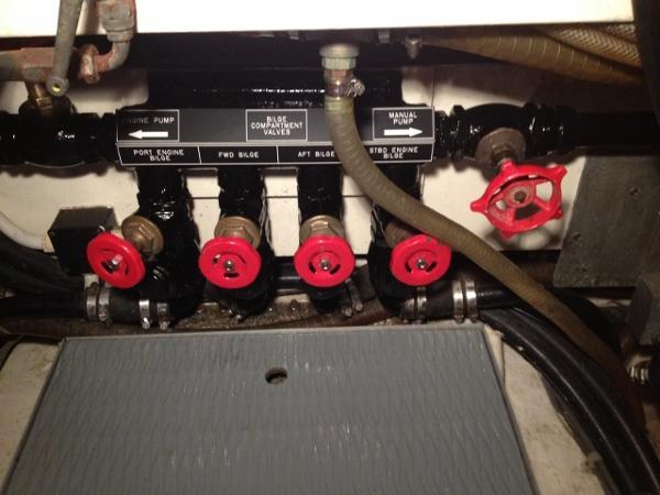 Talisman 49 - engine pump manifold