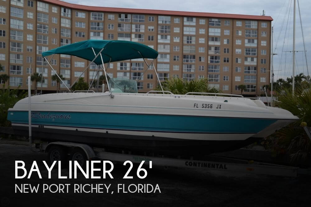Bayliner 2609 Rendezvous 1996 Bayliner 2609 Rendezvous for sale in New Port Richey, FL