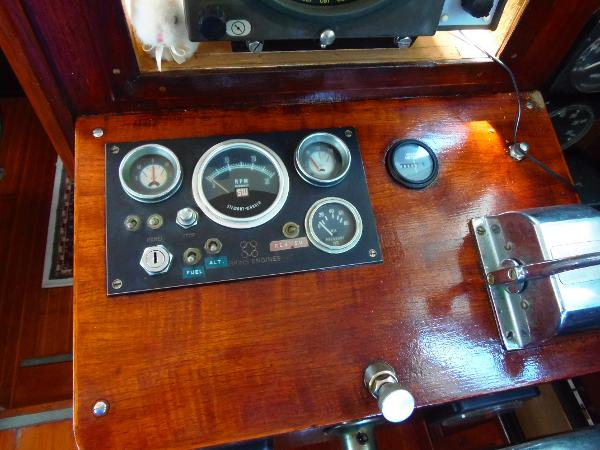 Interior helm instruments