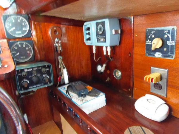 More interior helm instrumentation