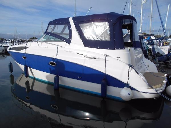 Bayliner 325 On her berth