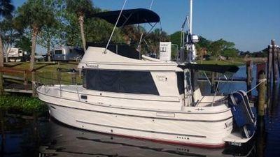 Camano 31 Trawler Port Side Aft