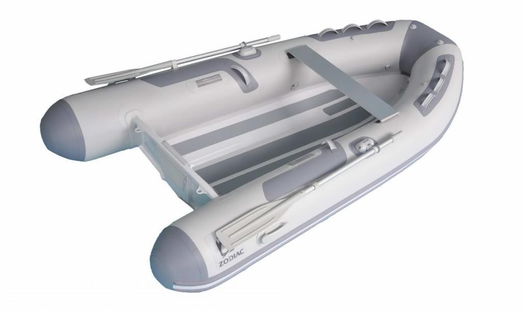 Zodiac Cadet 390 RIB Alu DL Tender AluminiumRumpf