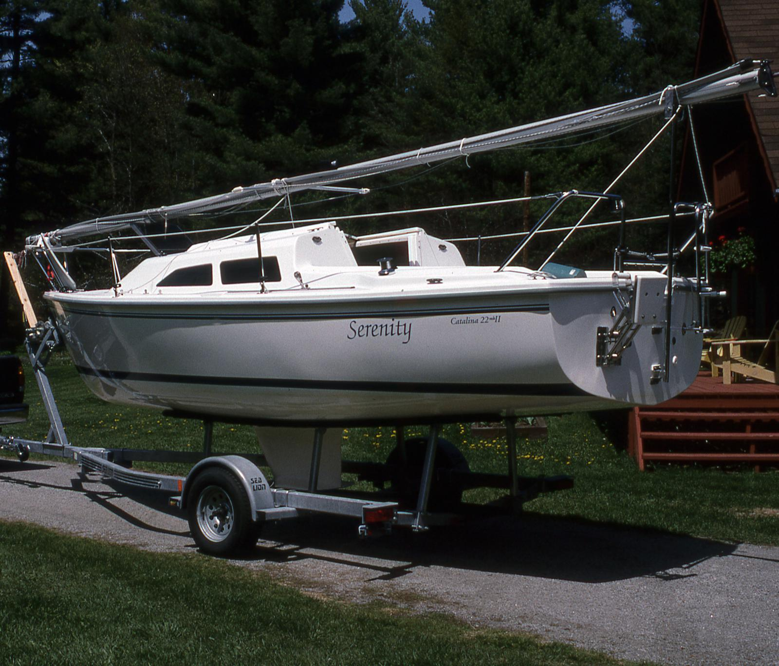 Catalina 22 Mark 2 Wing Keel