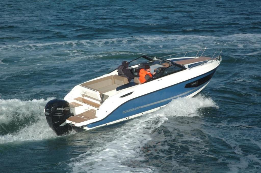 Quicksilver 755 Cruiser  150PS TESTBOOT
