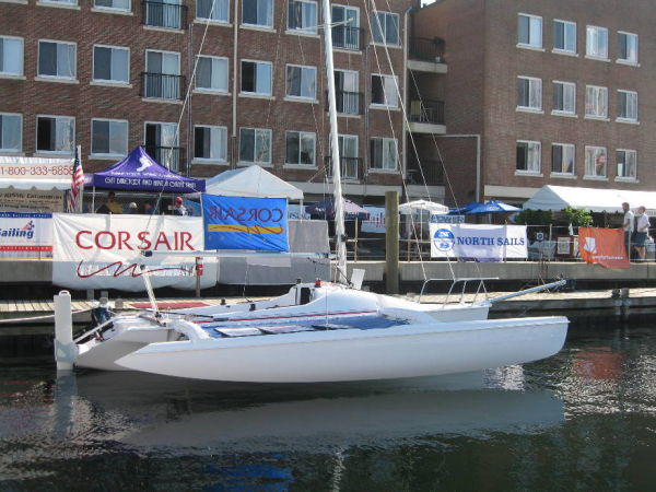 Corsair Sprint 750 - 26 At Boat Show