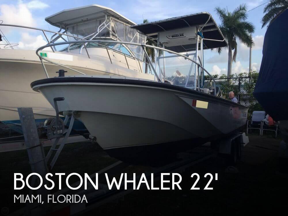 Boston Whaler 22 Outrage 1983 Boston Whaler 22 Outrage for sale in Miami, FL