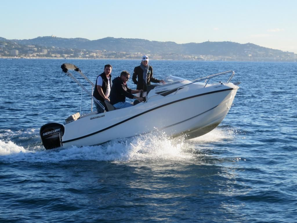 Quicksilver Activ 455 Cabin  15 PS LAGERBOOT 2