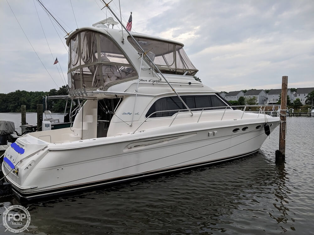 Sea Ray 480 Sedan Bridge 2000 Sea Ray 480 Sedan Bridge for sale in Essex, MD