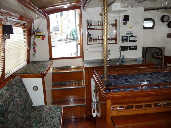 Galley & Cockpit Entry