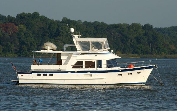DeFever 50 Cockpit Motor Yacht