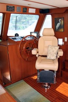 DeFever 50 Lower Helm Captain's Chair