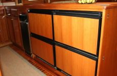 DeFever 50 Galley Storage / Cabinetry