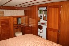 DeFever 50 Master Stateroom Facing Head