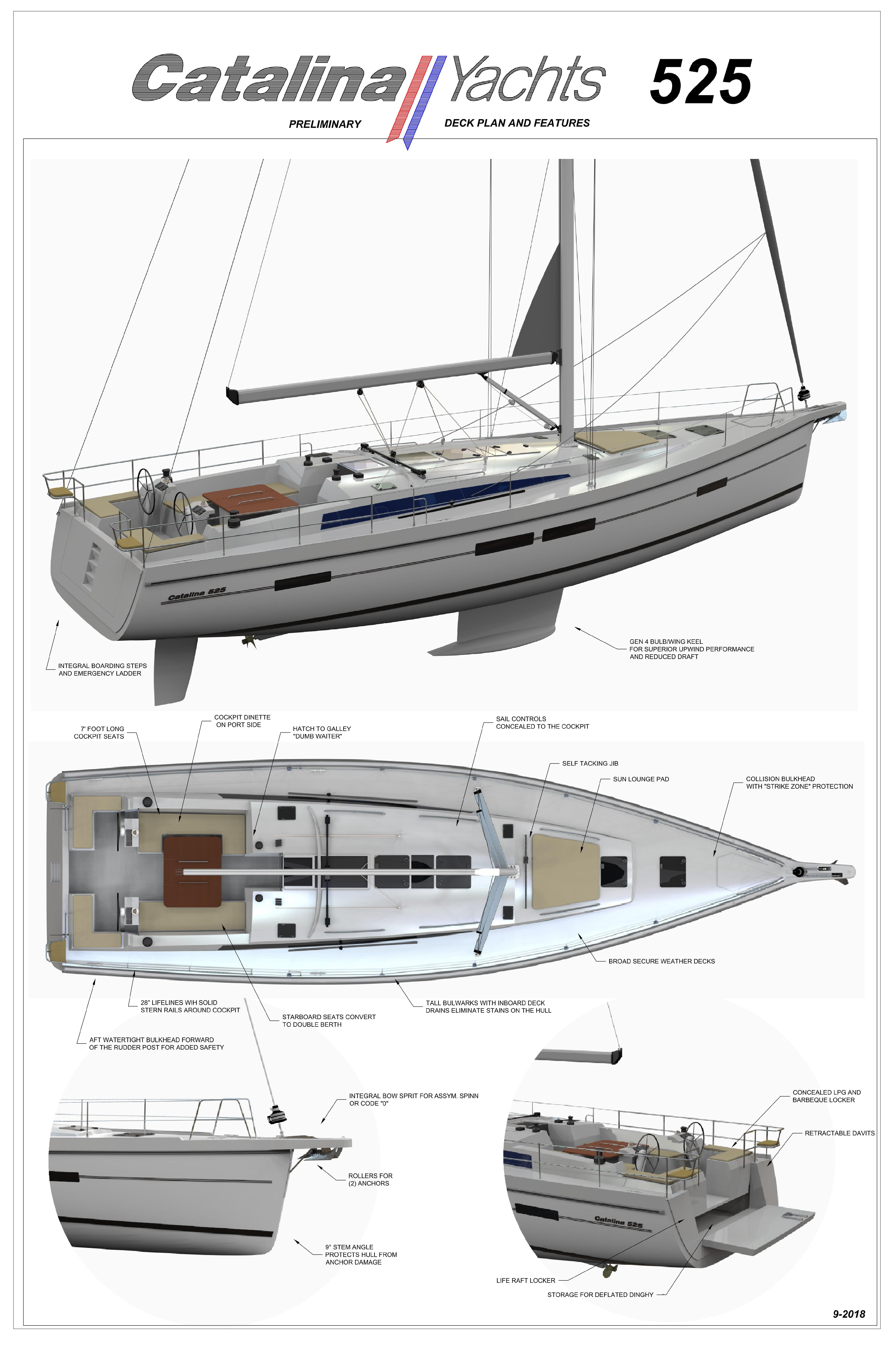 2020 Catalina 545, Riverside New Jersey - boats com