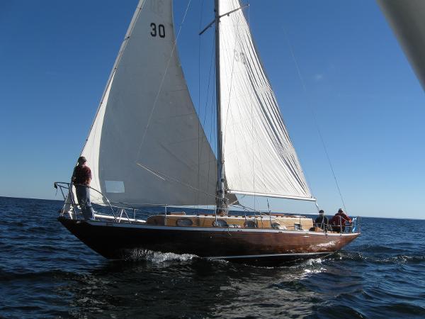 Custom Sparkman& Stephen 41 Bermuda Cutter