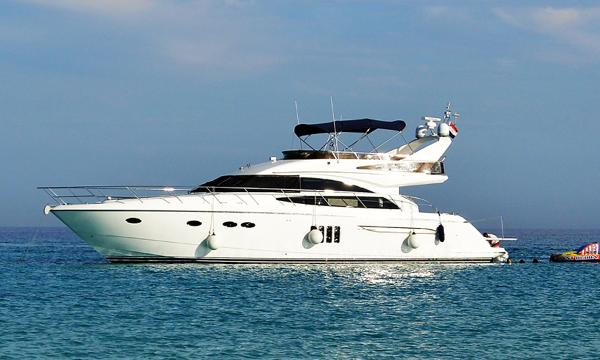 Princess 62 Flybridge 2009 Princess 62 Flybridge - LINA