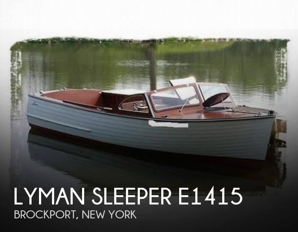 Lyman Sleeper E1415 1959 Lyman Sleeper E1415 for sale in Brockport, NY