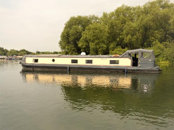 Wide Beam Narrowboat 65 x 12 Adobe Orchard Marine