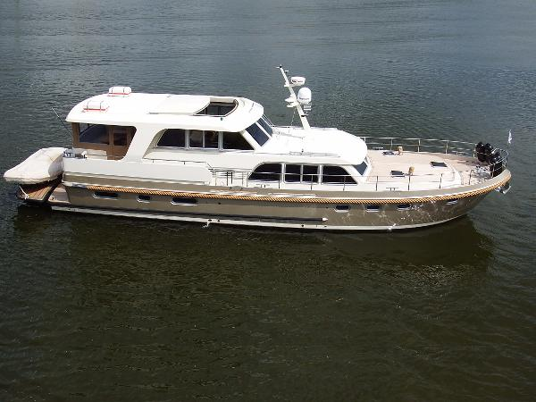 Linssen Grand Sturdy 590 AC Wheelhouse! NEW!