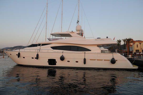 Ferretti Yachts 880 2006 Ferretti 881 Hard Top
