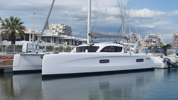 Outremer 45 Iolana Port side