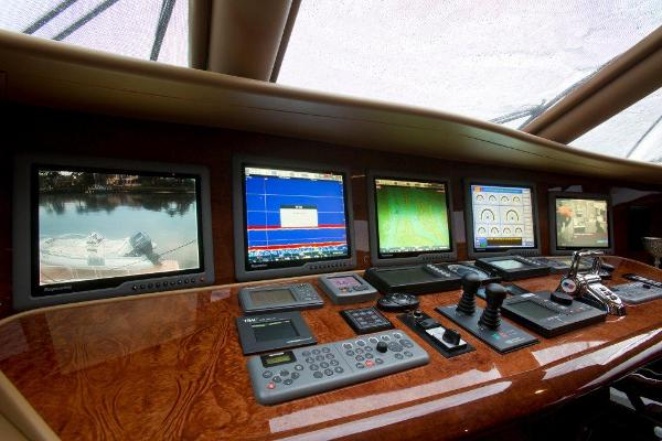 Pilothouse Instrument Console