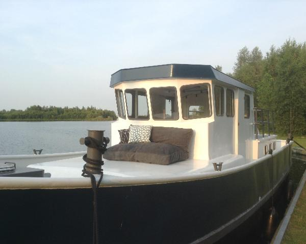 Custom Dutch Barge Cutter Houseboat Dutch Barge Cutter