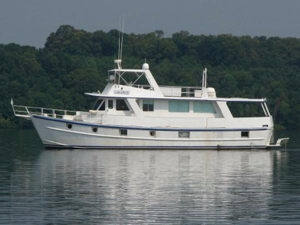 Skipper Jones - Custom 65 Pilot House