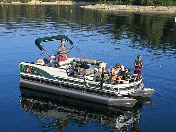 Tracker Sun Tracker Fishin' Barge 21 Manufacturer Provided Image