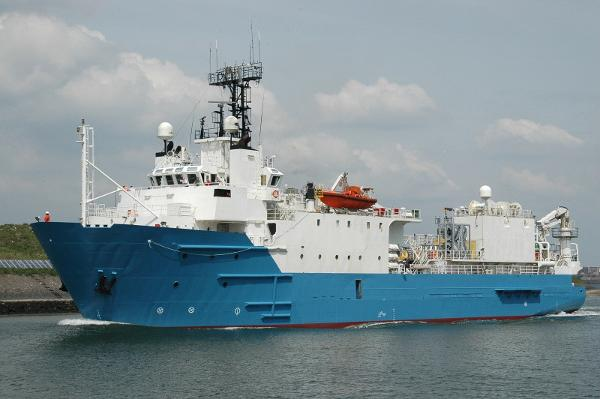 Custom Seismic Research Vessel