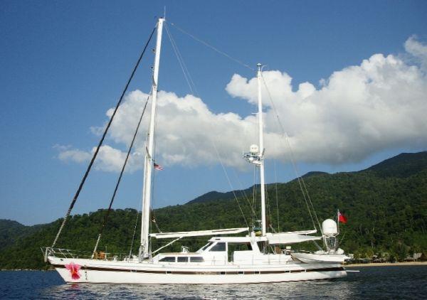 Cenmarine Auxiliary Sailing Ketch Profile
