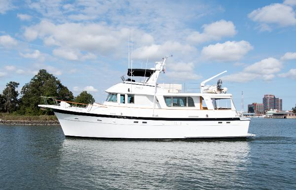 Hatteras 58 Long Range Cruiser Maggie B