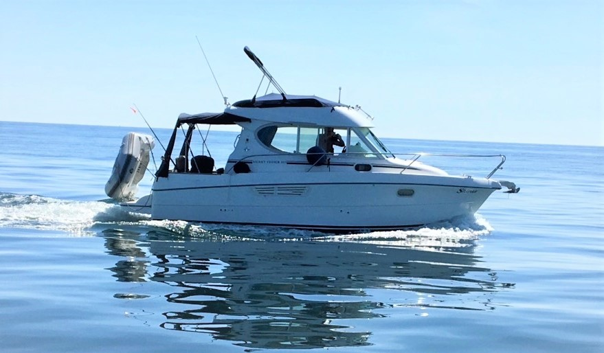 Jeanneau Merry Fisher 805 Jeanneau Merry Fisher 805 on the water 2019