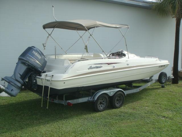 Hurricane Deck Boat Fun Deck 232