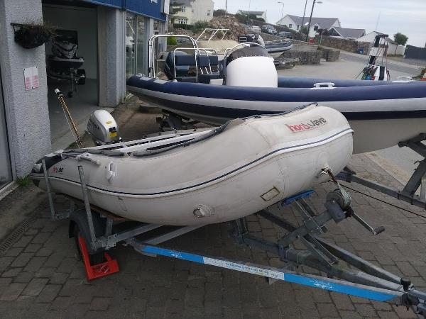 Honwave T40 RIB Honwave T40 with Honda F20 Outboard Engine & De Graff Trailer