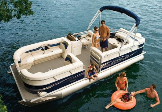 Sylvan Mirage 8522 Cruise Manufacturer Provided Image