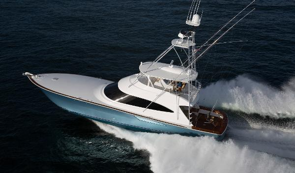 Viking 72 Convertible Port Side