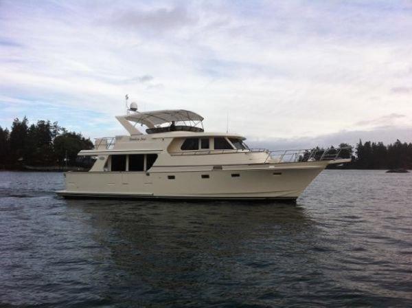 Symbol Classic 55 Pilothouse Custom Starboard profile