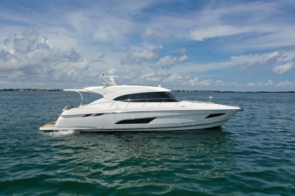 Riviera 5400 Sport Yacht 2018 Rivera Sport Yacht Starboard Profile