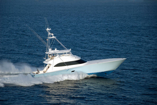 Viking Yachts Convertible Photo 1
