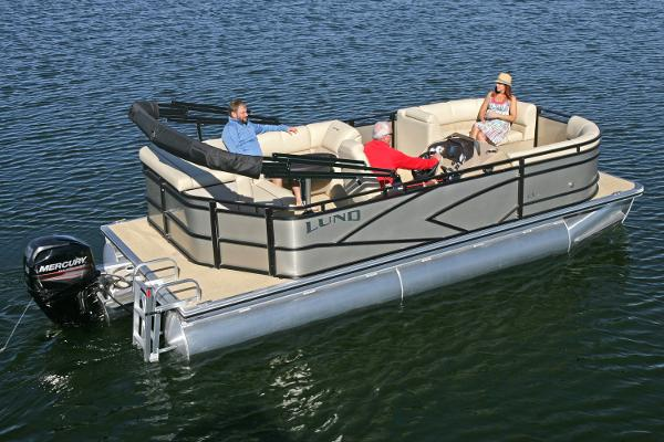 Lund LX200 Pontoon Manufacturer Provided Image